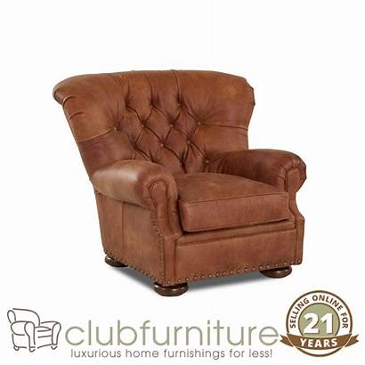 Leather Chairs Club Chair Traditional Smoking Furniture
