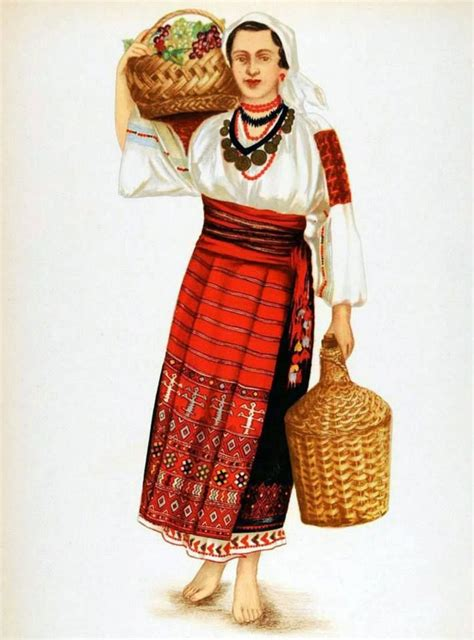 Costum popular romanesc | Artizanat Romanesc | Pinterest ...