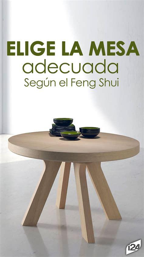 la mesa es  objeto indispensable por eso conoce como elegir la adecuada segun el feng shui