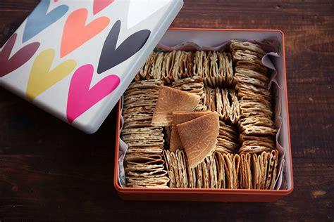 coconut love letters kuih kapit biscuit recipe sbs food