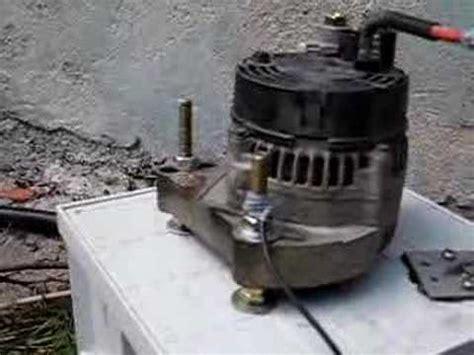 micro turgo turbine  car alternator youtube