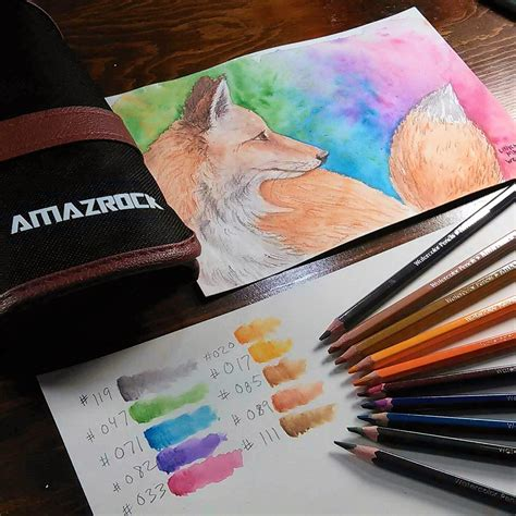 watercolor painting tutorial how to paint a fox with