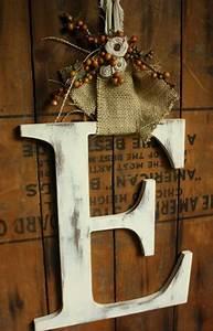 quotwreathquot letter for front door love the burlap cute With front door letters