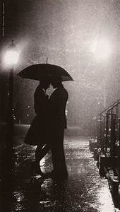 rain can be romantic :) preferably without the umbrella ...