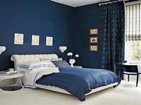 royal blue painted bed room blue paint colors