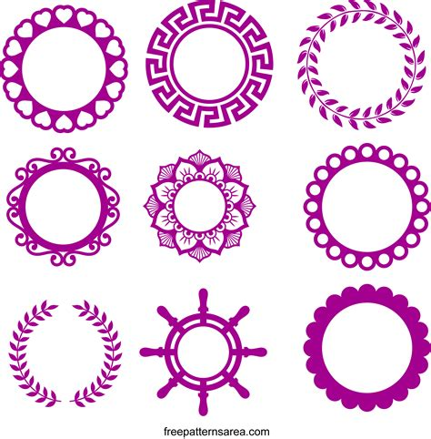 Svg is an image format used for vectors graphics. Monogram Frames Free SVG Cutting File For Cricut ...