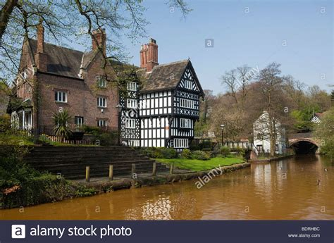 Old Boatyard Worsley by Uk England Salford Worsley Packet House On The
