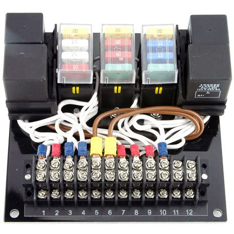 cbs 12 circuit wiring module car builder solutions kit