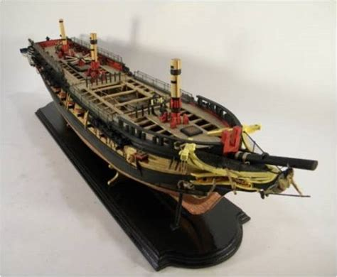 model shipways uss essex frigate   ms wooden