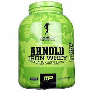 Musclepharm Arnold Iron Whey  Chocolate - 5 Lb