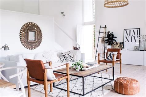 White + Worldly Loft Dining Room Coco Kelley