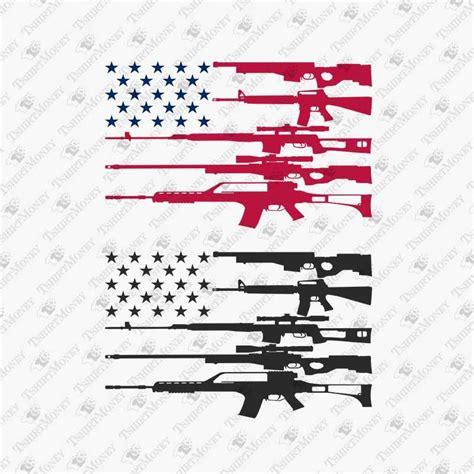 American Flag Gun Svg Free – 455+ Crafter Files