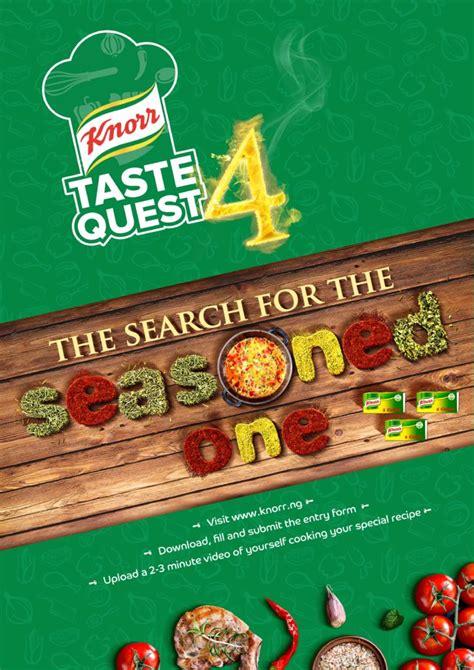 knorr quest taste cooking season