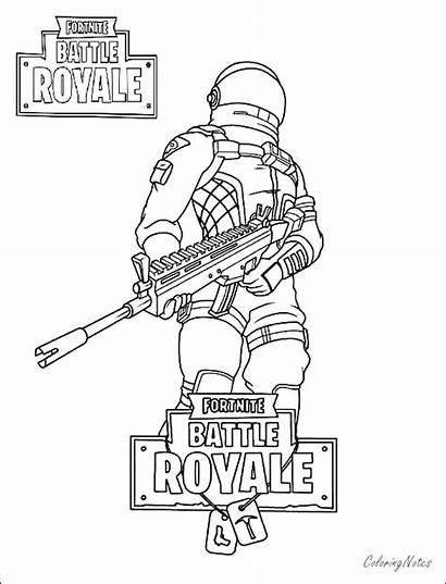 Fortnite Coloring Pages Royale King Battle Drift