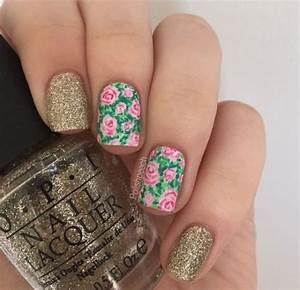 30+ Spring Floral Nails Art Designs & Ideas 2017 ...