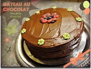 Gateau Sans Lactose : g teau au chocolat sans gluten et sans lait ~ Melissatoandfro.com Idées de Décoration