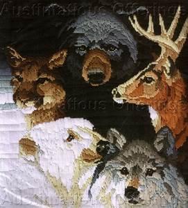 Rare Roger Reinardy Wildlife Longstitch Needlepoint Kit