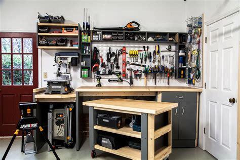 ultimate workshop organization rockwelltools garage