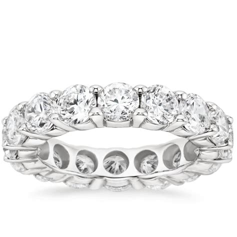 wedding ring diamond eternity ring 5 ct tw