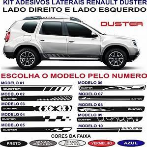 Acessorios Par Faixa Lateral Renault Duster Dynamique 2018
