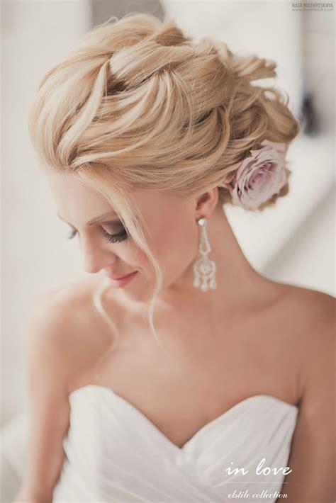 gorgeous wedding hairstyles  makeup ideas belle