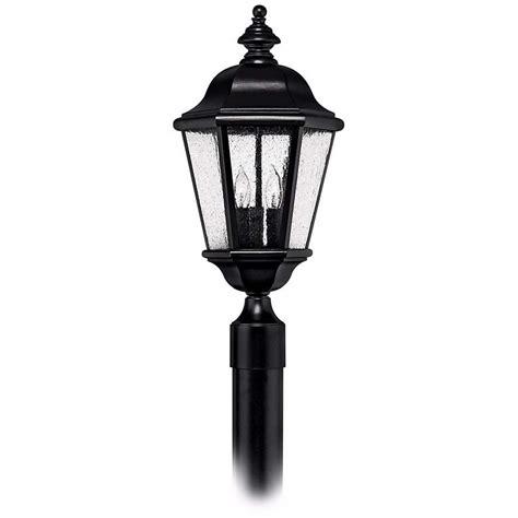 hinkley edgewater black 20 1 2 quot high outdoor post light