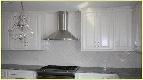Improvements Refference White Subway Tile Backsplash