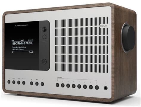 modern radio on line dieter rams inspired revo superconnect hybrid radio retro to go