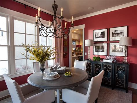 Red Dining Room Photos