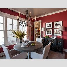 Red Dining Room Photos  Hgtv