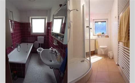 kleines bad sanieren kleine badezimmer renovierung ideen