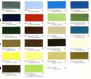 Mopar Color Charts
