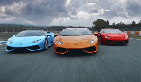 lamborghini huracans meet   epic video