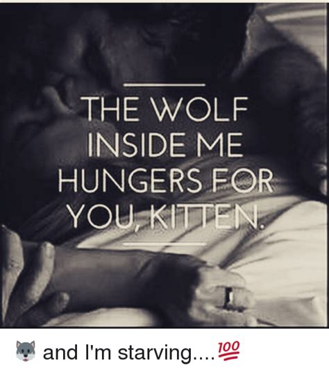 The Wolf Inside Me Hunger For You Kilden 🐺 And I'm