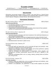 resume for dentist pdf resume sle dentist resume sle free dentist resume cover letter dentist resume for fresh