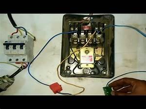Dol Starter Remote Wiring Connection