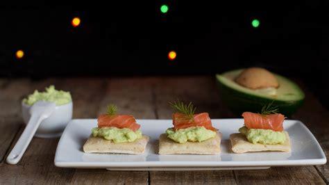 canape sia ricetta canapè al salmone con crema di avocado ifood