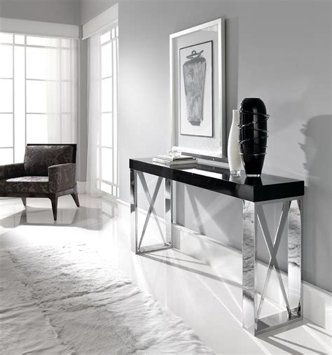 Sofa Table Contemporary by Collection Contemporary Console Table Juliettes