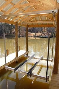 Aluminum Boathouse Boatlift