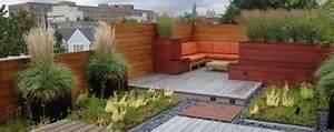 terrasse bepflanzung ideen windschutz terrasse With französischer balkon mit sichtschutz garten ideen günstig