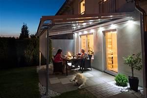 licht gt zusatzausstattung wolf markisen With französischer balkon mit led sonnenschirm licht