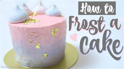 frost  gradient cakepantone dreamy party cake
