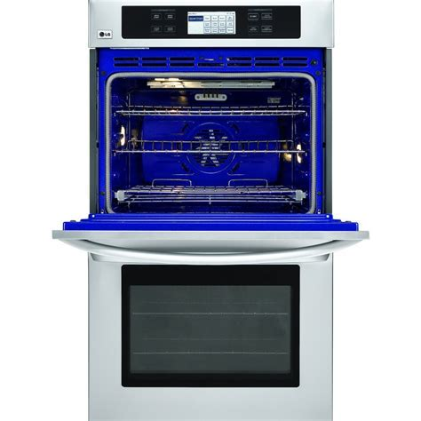 """LG : LWD3081ST 30"""" Double Electric Wall Oven, 4.7 cu. ft"""