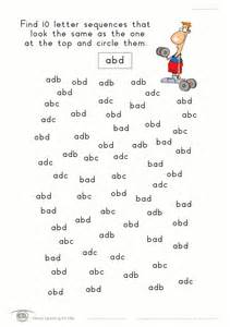 Visual Perceptual Worksheets