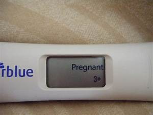The gallery for --> Clear Blue Positive Pregnancy Test