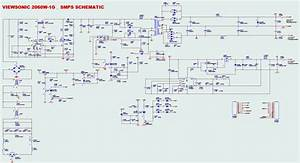Schematic Diagram Viewsonic 1564a Monitor