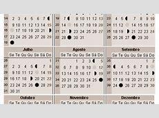 Calendário lunar 2017 A Gravidez
