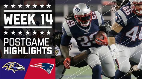 Different ways of referring this game. Ravens vs. Patriots   NFL Week 14 Game Highlights - YouTube