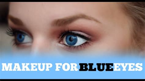 everyday makeup  blue eyes youtube