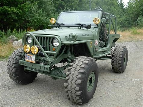 army jeep jk built as a modern day willy 39 s army jeep awesome